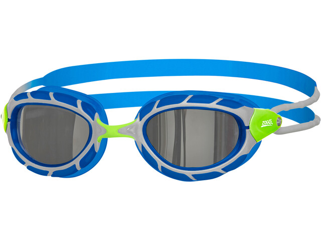Zoggs Predator Mirror Brille Kinder green/blue/mirror